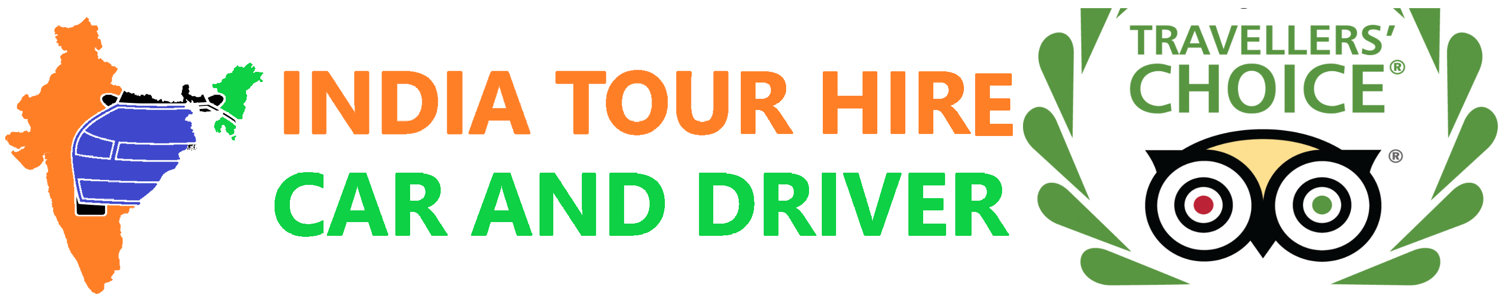 India Tour Hire Car & Driver Logo
